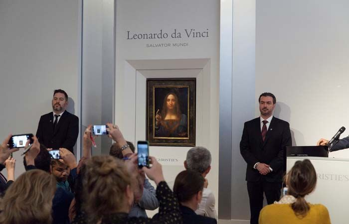 Abu Dhabi to acquire Leonardo da Vinci's 'Salvator Mundi': Christie's