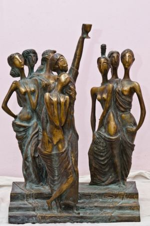 Скульптура, Сюрреализм - Seven beautiful